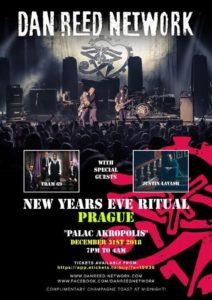 DAN REED NETWORK New Year's Eve Ritual @ 'Palac Akropolis', Prague, Czech | Hlavní město Praha | Czechia